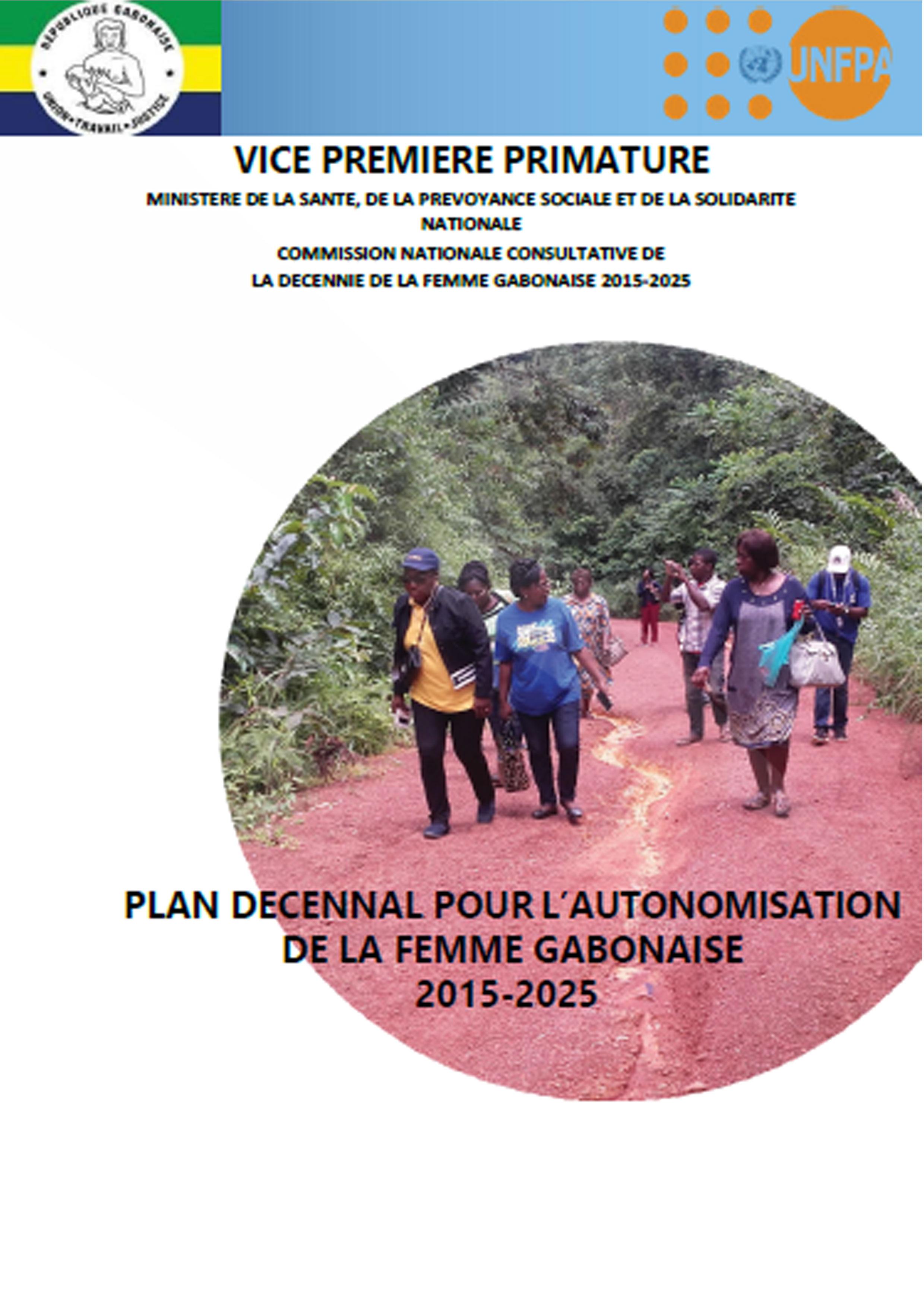 DECENNIE DE LA FEMME GABONAISE 2015-2025